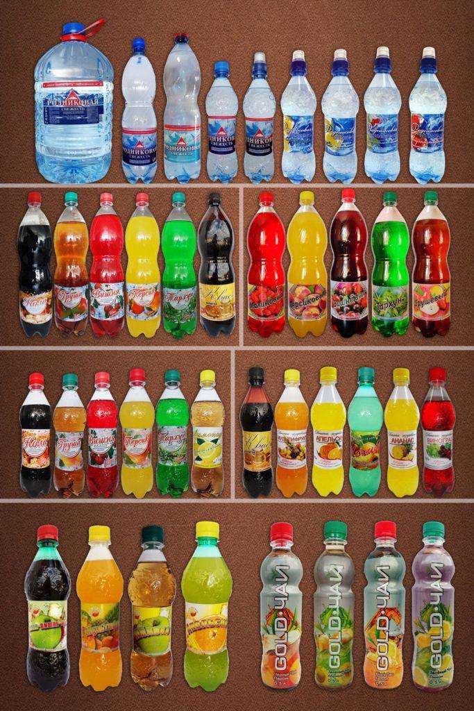 соки и безалкогольные напитки содержания йода